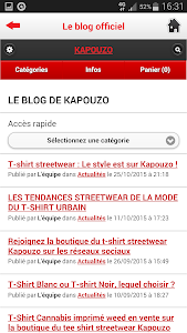 Kapouzo Officiel Streetwear screenshot 3