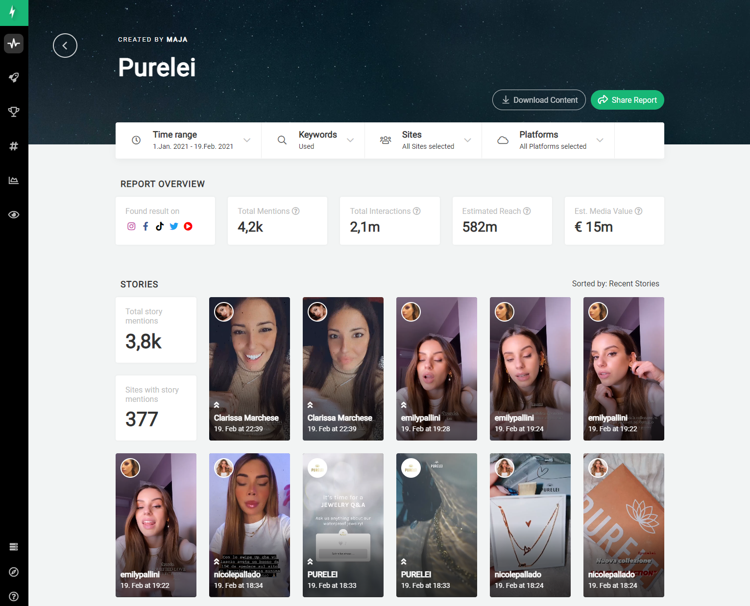 storyclash influencer marketing platforms