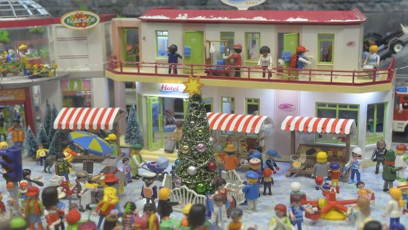 Más de 85 horas de montaje han sido necesarias para exhibir al público este diorama.