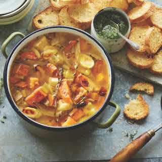 Roasted Fall Vegetable Soup.