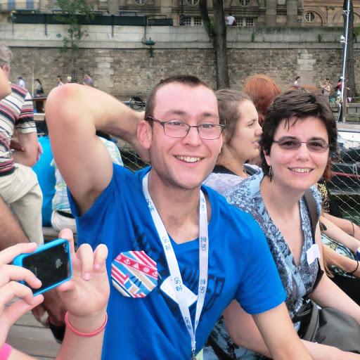 Antoine Roullin participe au cross Ouest France et soutient L'Arche La Ruisselée !