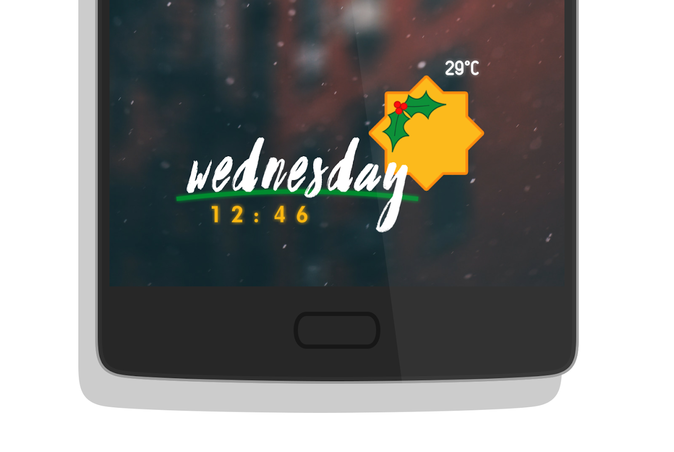 Ocea for KWGT- screenshot