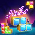 Block puzzle game: Jewel blast retro icon