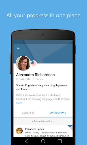 Learn to speak English with busuu 13.1.0b.15 screenshots 7