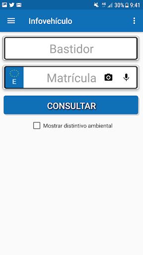 Infovehículo - Consultar matrícula 6.9 androidtablet.us 1