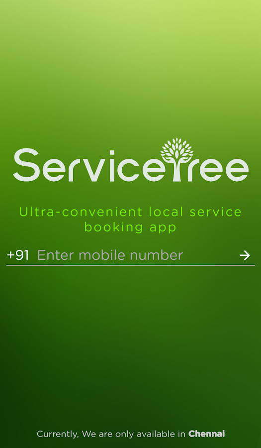 ServiceTree - Local Service Booking App- screenshot