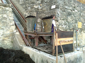 Photo: Puidoux Dézaley - www.standseilbahnen.ch Standseilbahn Funiculaire Funicular