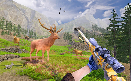 Code Triche Wild Deer Hunting Adventure :Animal Shooting Games mod apk screenshots 3