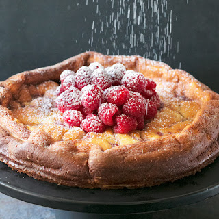 Raspberry Lemon Ricotta Cheesecake