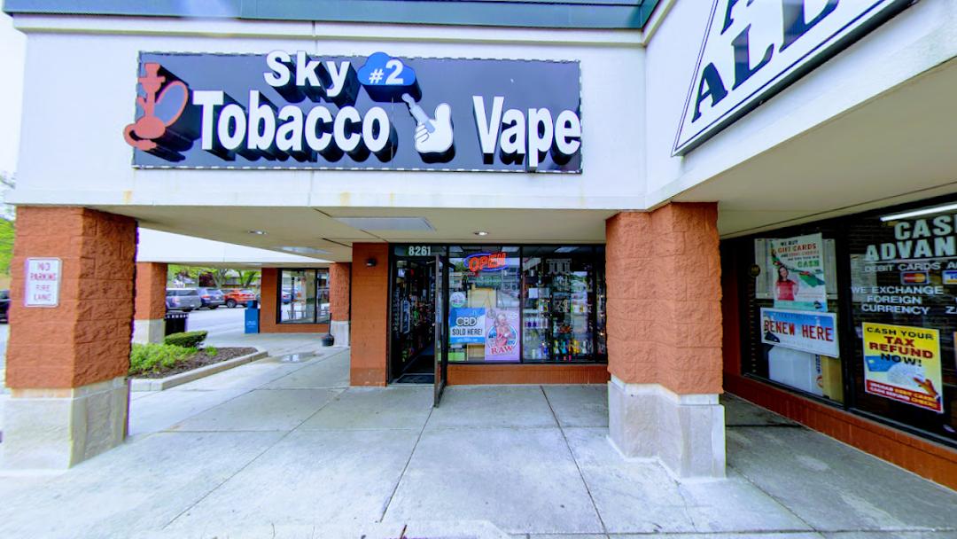 Sky #2 Tobacco Vape Hookah CBD Kratom - Tobacco Shop in