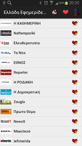 Ελλάδα Εφημερίδες και ειδήσεις