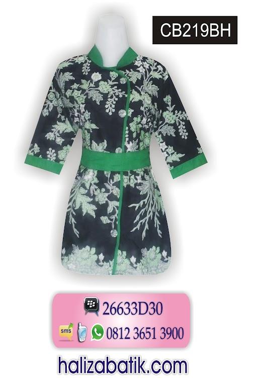 Model Baju Batik Resmi, Baju Kerja Batik, contoh bajubatik modern