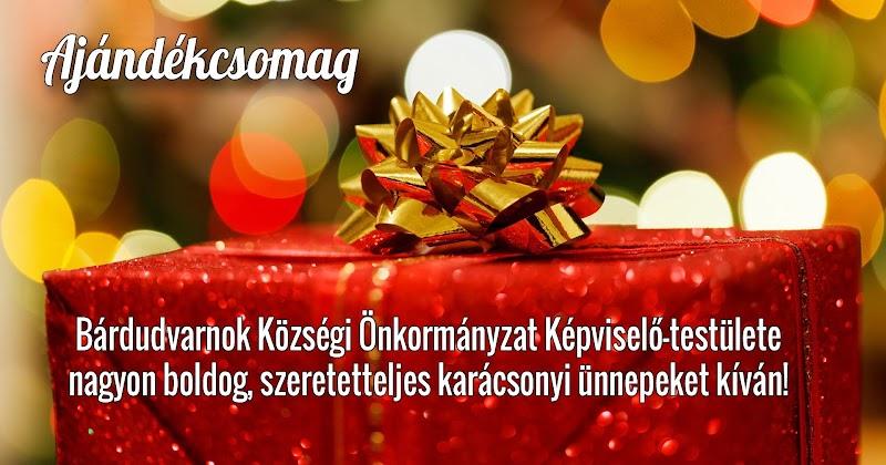 Karácsonyi ajándékcsomag 2018
