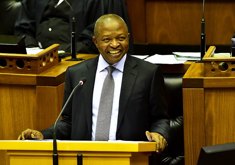 Deputy President David Mabuza during his Questions for Oral Reply in the National Assembly. Picture: JAIRUS MMUTLE/GCIS