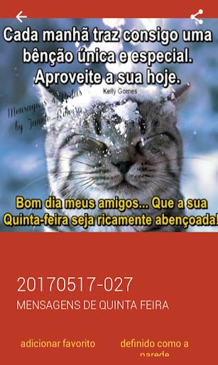 Mensagens de Quinta Feira 2.0.0.0 screenshots 8