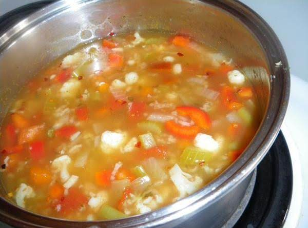 Vegetable Rice Soup Recipe