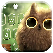 Free Sunshine Forest Owl Keyboard Theme APK for Windows 8