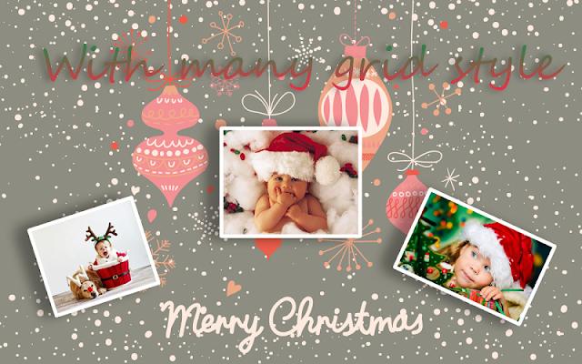 Christmas Collage Editor - screenshot
