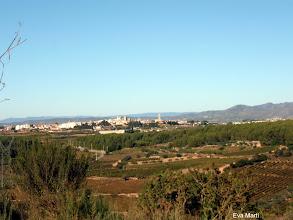 Photo: Vista de l'Arboç al fons.