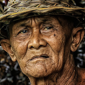 Old Balinese Men  by Andreas Hie - People Portraits of Men ( senior citizen )