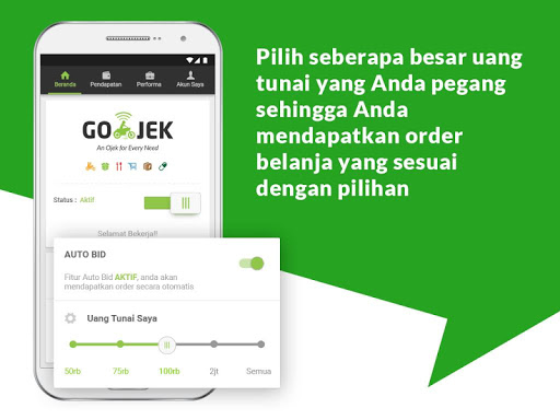 GO-JEK Driver 3.2.0 screenshots 2