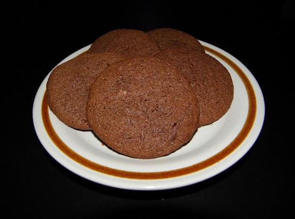 Chocolate Sour Cream Drop Cookies Recipe
