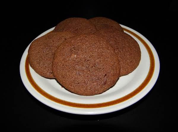 Chocolate Sour Cream Drop Cookies!