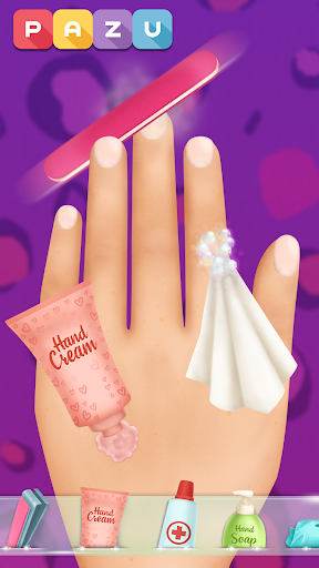 Girls Nail Salon - Manicure games for kids 1.07 screenshots 4