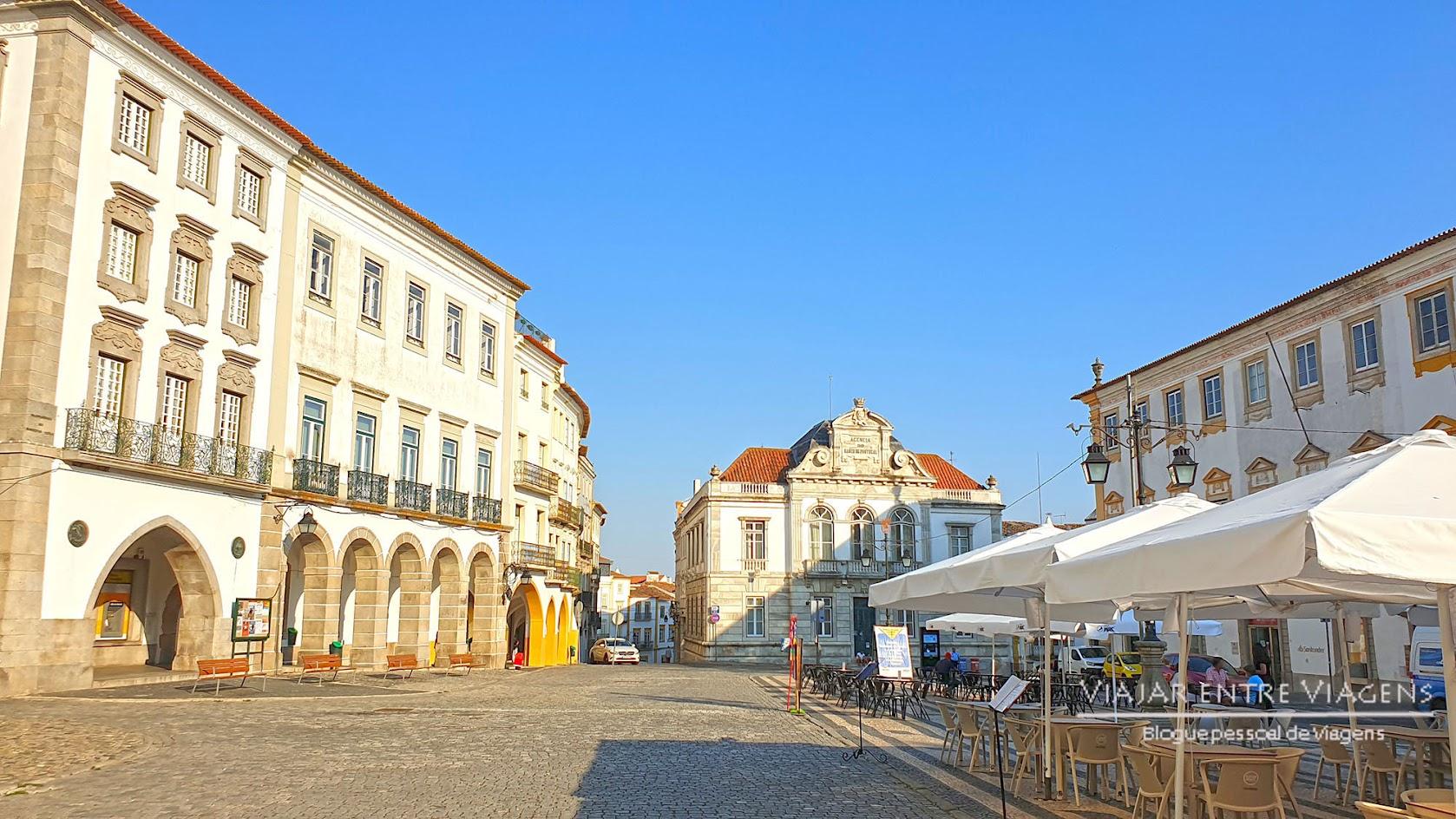 Praça do Giraldo - VISITAR ÉVORA, o que ver e fazer na cidade-museu, Património Mundial da UNESCO