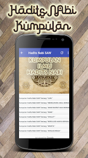 Hadits Nabi Kumpulan Apps On Google Play