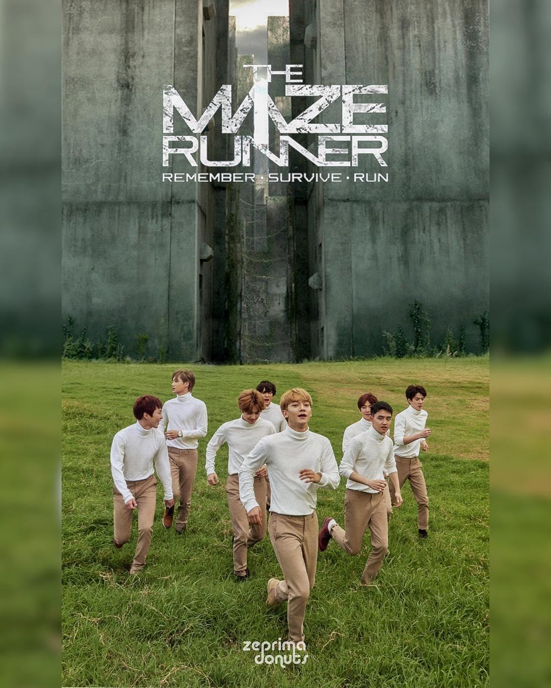EXO Maze Runner Edit