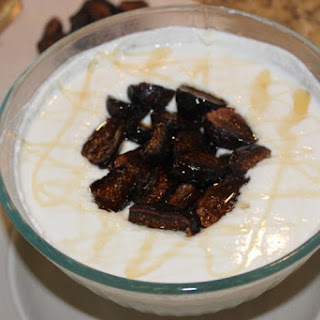 Whipped Yogurt and Ricotta with Figs and Honey.
