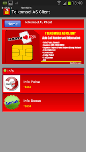 Telkomsel AS Client screenshot 2