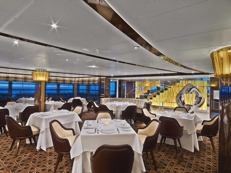 Enjoy upscale dining in The Grill By Thomas Keller on your Seabourn Encore cruise.