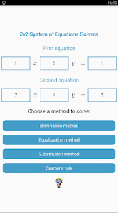 2x2 System of Equation Solvers - náhled