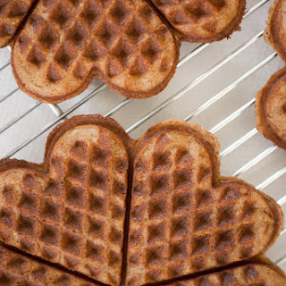Grain-Free & Paleo Pumpkin Waffles with Salted Maple Butter