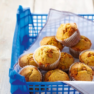 Banana Butterscotch Muffins