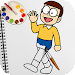 Superhero Nobita Coloring Pages For Kids icon