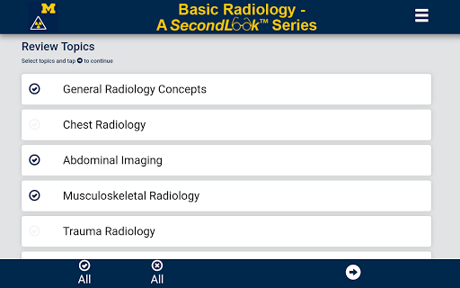 Basic Radiology - SecondLook screenshot for Android