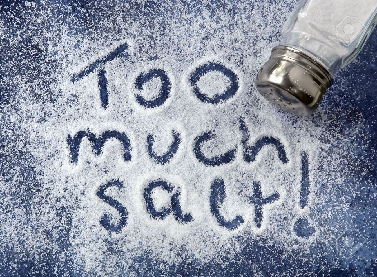 Image result for too much salt