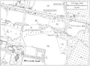 Photo: O/S MAP Mereworth/Wateringbury 1896