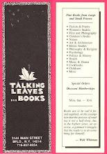 Photo: Talking Leaves Books