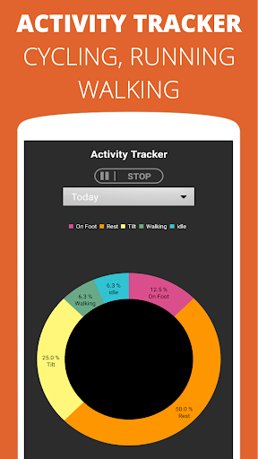 Pedometer - Step Counter Free & Calorie Counter 3.5.5 screenshots 3