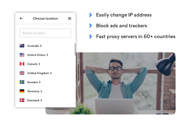 NordVPN Proxy Extension - Privacy & Security