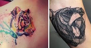 Resultado de imagen de imagenes tatuajes animales