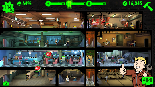 Fallout Shelter Mod Apk V1.14.6 [Unlimited Money] 6