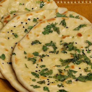 Kulcha (Punjabi Flatbread).