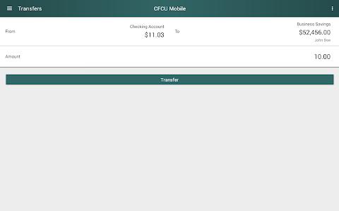 CFCU Mobile banking screenshot 7