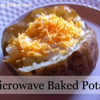 Microwave Baked Potatoes.