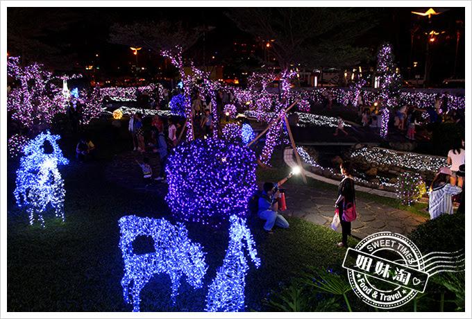 2016夢時代愛Sharing聖誕節LED造景公園2